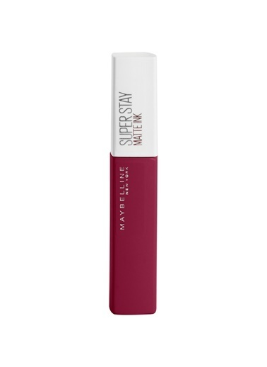 Maybelline Maybelline New York Super Stay Matte Ink City Edition Likit Mat Ruj - 115 Founder Kırmızı